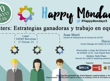 Evento Happy Mondays 5 en ESERP Barcelona
