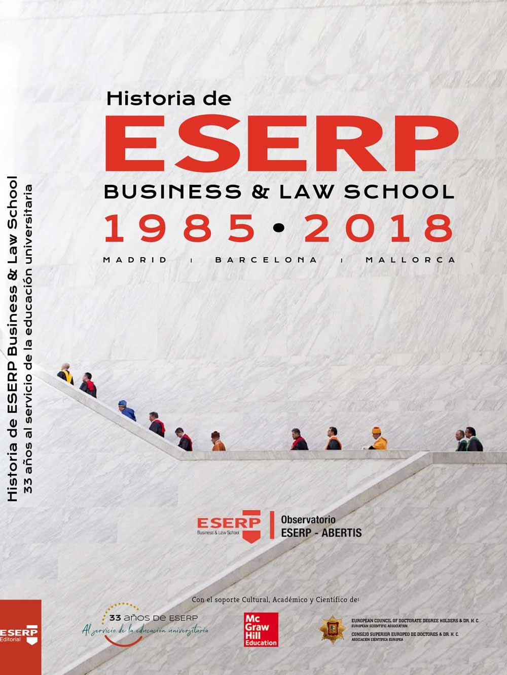 Portada Libro Historia de ESERP