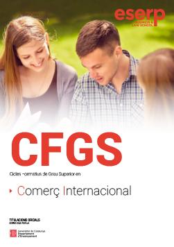 Folleto CFGS - Comerç Internacional en Barcelona