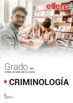 Folleto del Grado en Criminología en Barcelona width=