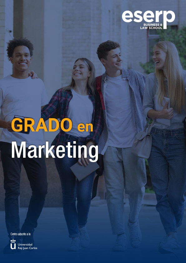 Folleto Grado en Marketing en Madrid