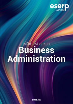 Folleto del MBA – Master in Business Administration en Barcelona Brochure width=
