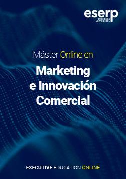 Folleto Máster Online en Marketing e Innovación Comercial