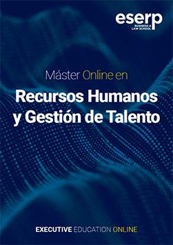 Folleto Máster Online en Recursos Humanos y Gestión de Talento
