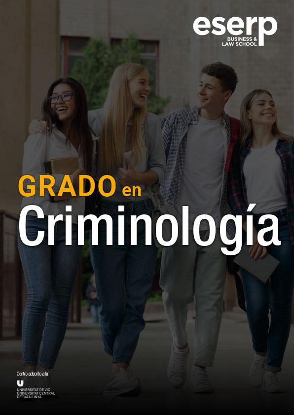 Grado en Criminología en Barcelona