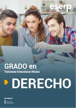 Folleto del Grado en Derecho en Madrid width=