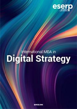 International MBA in Digital Strategy in Barcelona Brochure width=