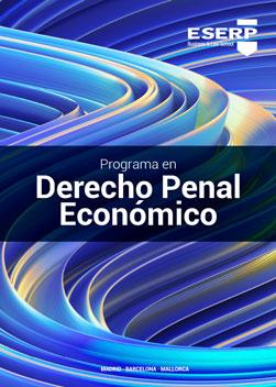 Folleto Curso en Derecho Penal Económico