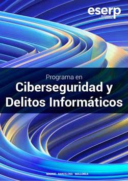 Folleto Curso en Ciberseguridad y Delitos Informáticos en Madrid
