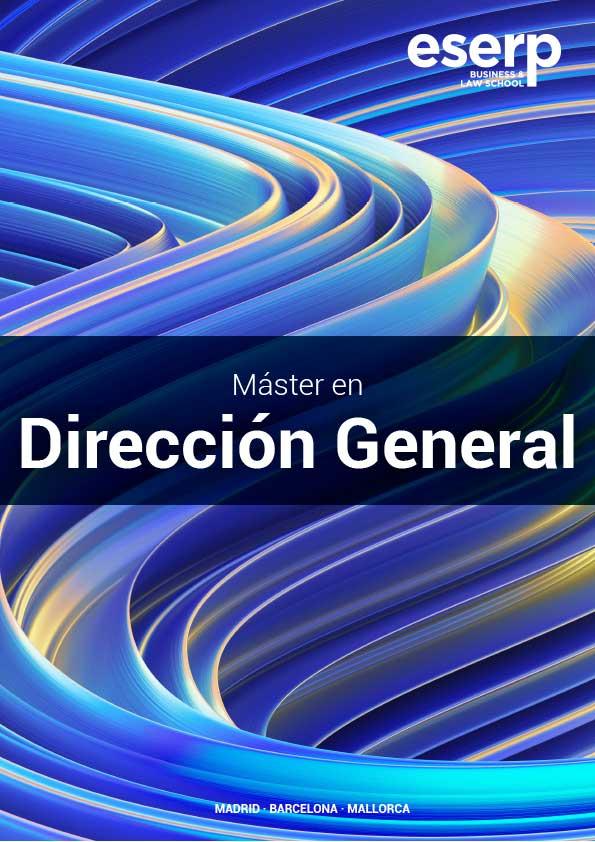 Folleto Máster en Dirección de Empresas en Madrid