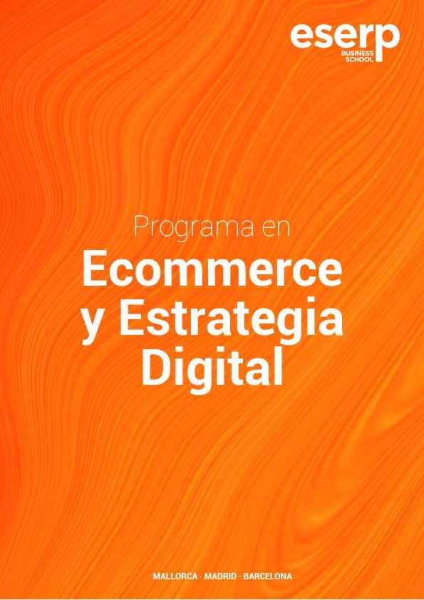 Folleto Curso Comercio Electrónico y Estrategia Digital