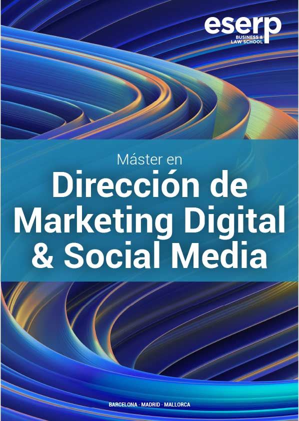 Folleto Máster en Marketing Digital y Social Media