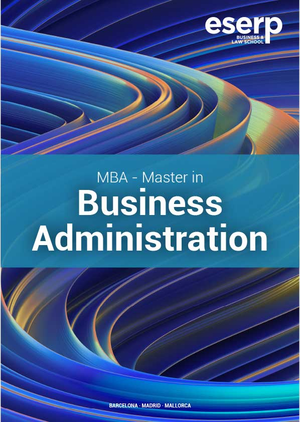 Folleto MBA Master Business Administration en Barcelona