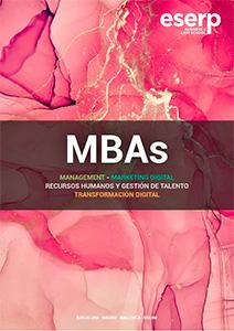 Folleto todos los tipos de MBAs de ESERP