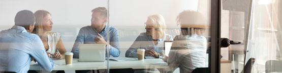 Enlace entre equipo humano y empresa