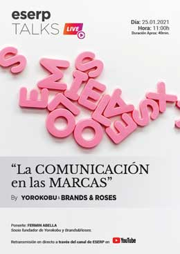 Talks La Comunicacion en las Marcas by Yorokobu