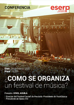 Como se organiza un festival de musica