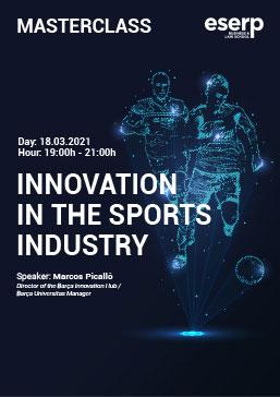 Masterclass - Innovation Sports Industry