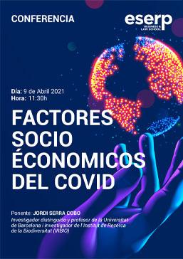 conferencia factores socioeconomicos del covid