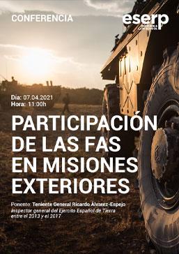 conferencia participacion de las fas en misiones exteriores