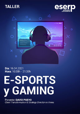 Taller e-sports y gaming