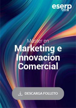 Folleto del Máster en Marketing e Innovación Comercial en Mallorca