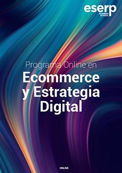Folleto del Programa Online en E-Commerce y Estrategia Digital width=