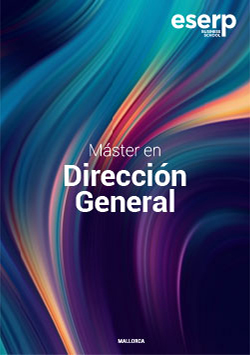 Folleto del Máster en Dirección General en Mallorca width=
